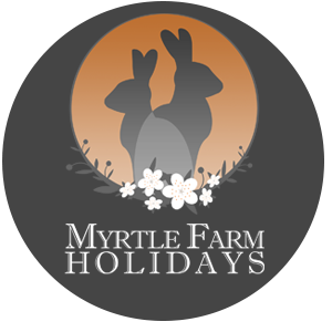 Myrtle Farm Holidays Accommodation and Campsite Logo